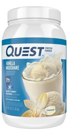 Quest Protein Powder Vanilla Milkshake - 3 Lb