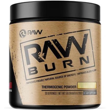Raw Nutrition Burn Peach Rings  - 30 Servings