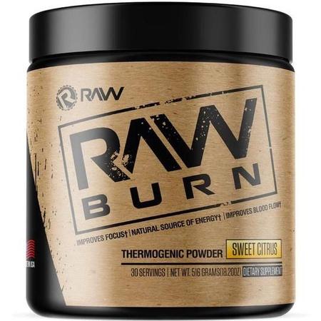 Raw Nutrition Burn Sweet Citrus - 20 Servings