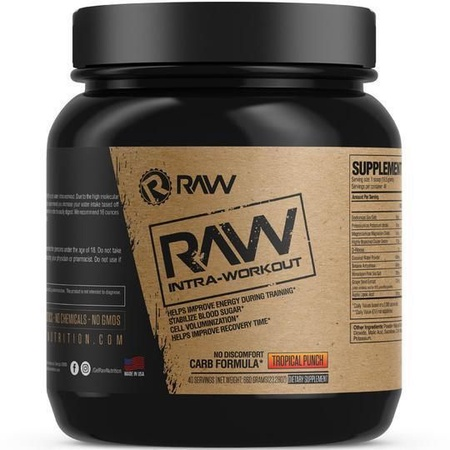 Raw Nutrition Intra-Workout Tropical Punch - 40 Servings