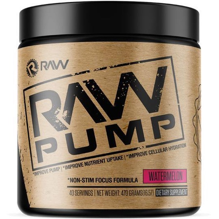 Raw Nutrition Pump Watermelon - 40 Servings