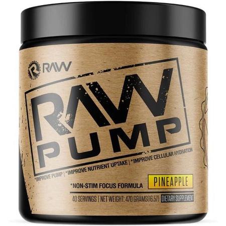 Raw Nutrition Pump Pineapple - 40 Servings