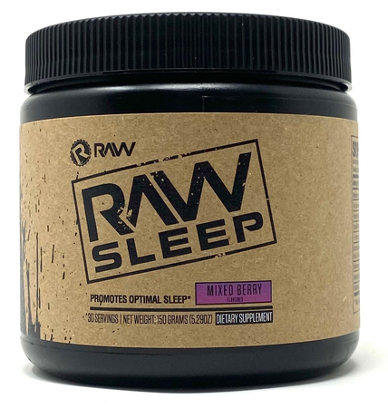 Raw Nutrition RAW Sleep Mixed Berry - 30 Servings