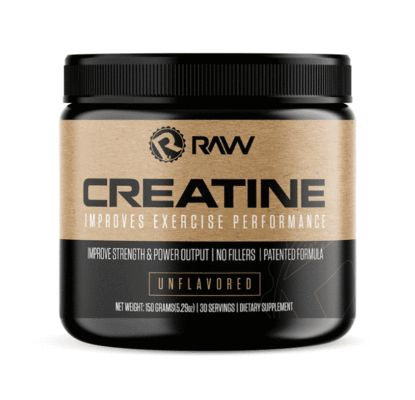Raw Nutrition Creatine - 30 Servings
