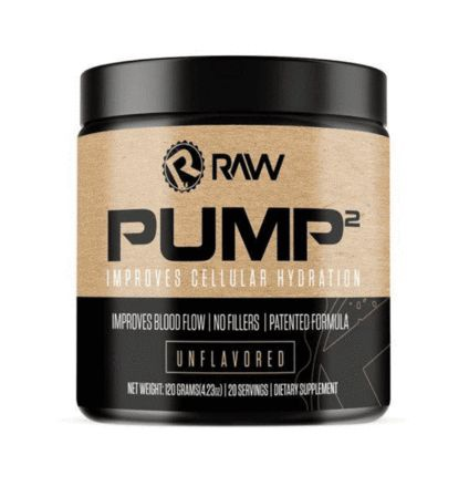 Raw Nutrition Pump2  Unflavored - 20 Servings