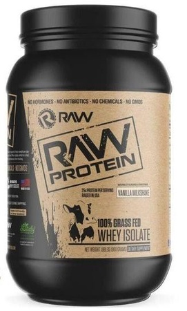 Raw Nutrition Raw Protein Vanilla - 25 Servings