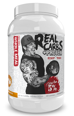 5% Nutrition Real Carbs + Protein  Apple Cinnamon Pie  Whole Food Based Meal Replacement - 22 Servings