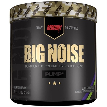 Redcon1 Big Noise Sour Gummy Bear - 30 Servings