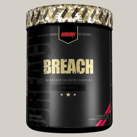 Redcon1 Breach BCAA's Strawberry Kiwi - 30 Servings