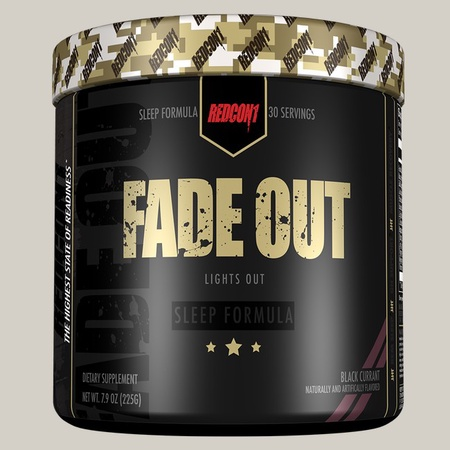 Redcon1 Fade Out Sleep Formula Black Current - 30 Servings