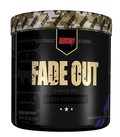 Redcon1 Fade Out Sleep Formula Grape - 30 Servings