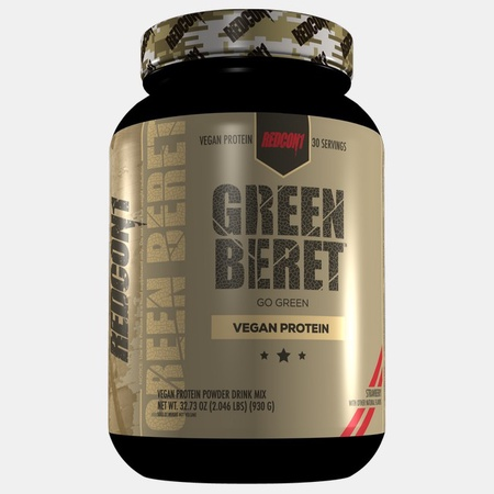 Redcon1 Green Beret Vegan Protein Strawberry - 30 Servings