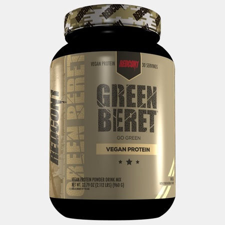 Redcon1 Green Beret Vegan Protein Vanilla - 30 Servings