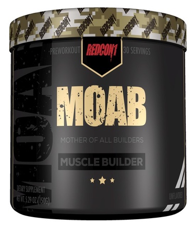 Redcon1 MOAB Unflavored - 30 Servings