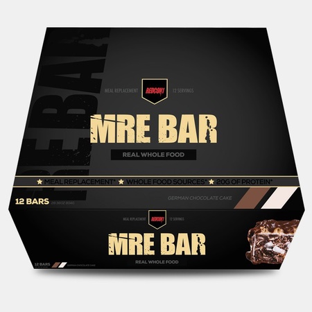 Redcon1 MRE Bars German Chocolate Cake - 12 Bars