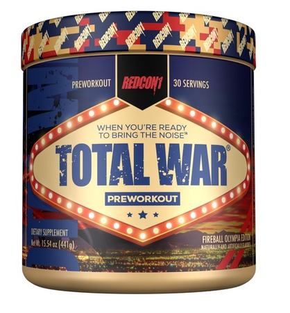 Redcon1 Total War Fireball OLYMPIA Limited Edition - 30 Servings