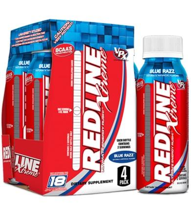 Vpx Redline Xtreme Blue Razz - 24 Btls