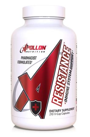 Apollon Nutrition Resistance - Premium Immune System Support - 210 Cap