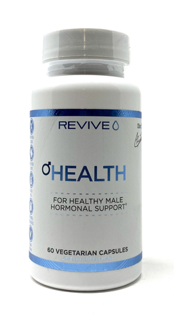 Revive Health   Male Hormonal Support - 60 Cap