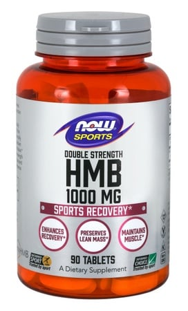 Now Foods HMB Double Strength 1,000 Mg Tablets - 90 Tab