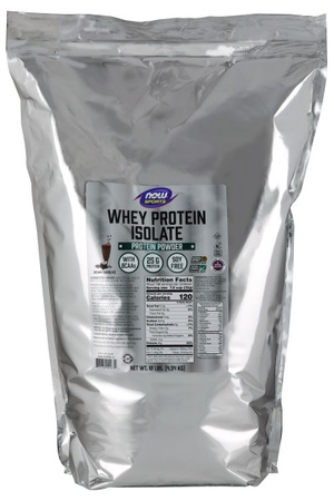 Now Foods Whey Protein Isolate Chocolate - 10 Lb