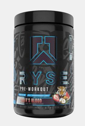 Ryse Blackout Pre Workout Tiger's Blood - 25 Servings