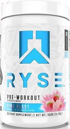 Ryse Preworkout Pink Blast - 20 Servings