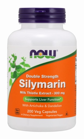 Now Foods Silymarin 300 Mg - 200 VCap