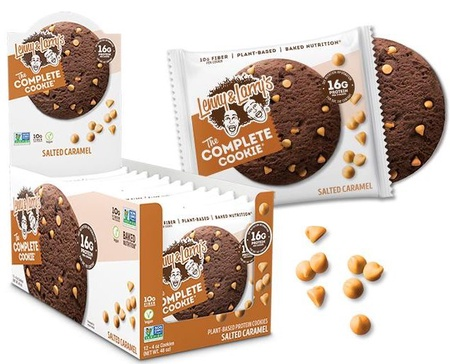 Lenny & Larry's The Complete Cookie Salted Caramel - 12 Cookies
