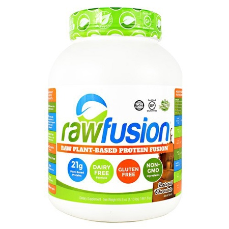 SAN Rawfusion Raw Plant Based Protein Chocolate - 4 Lb 60 Servings