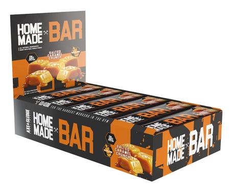 Axe & Sledge Home Made Bar  Salted Caramel Crunch - 12 Bars