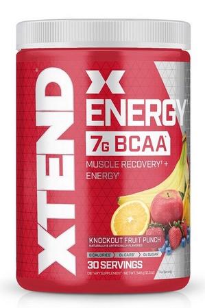 Scivation Xtend ENERGY Fruit Punch - 30 Servings