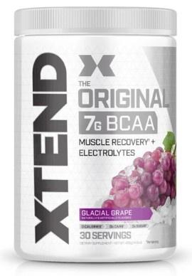 Scivation Xtend Original Glacial Grape  - 30 Servings