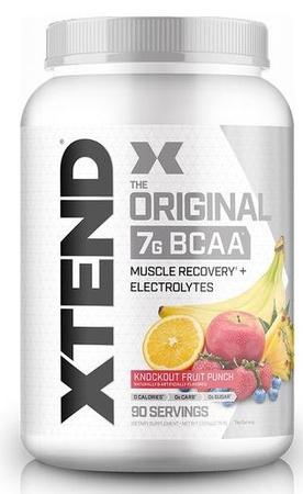 Scivation Xtend Original Knockout Fruit Punch - 90 Servings