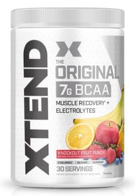 Scivation Xtend Original Knockout Fruit Punch - 30 Servings