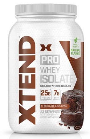 Scivation Xtend PRO Whey Isolate Chocolate Lava Cake - 23 Servings