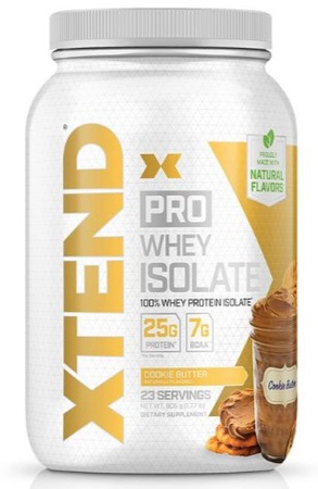 Scivation Xtend PRO Whey Isolate Cookie Butter - 23 Servings