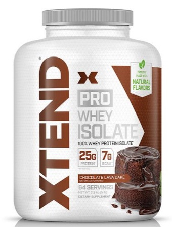 Scivation Xtend PRO Whey Isolate Chocolate Lava Cake - 64 Servings