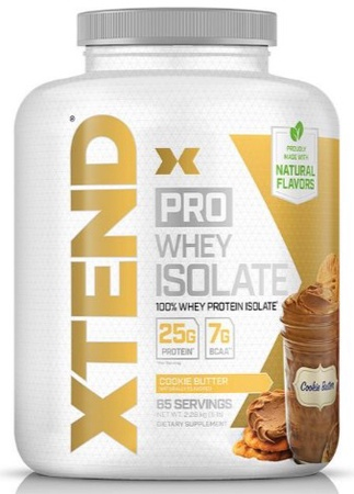 Scivation Xtend PRO Whey Isolate Cookie Butter - 65 Servings