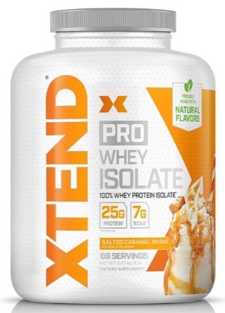 Scivation Xtend PRO Whey Isolate Salted Caramel - 69 Servings