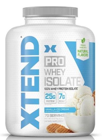 Scivation Xtend PRO Whey Isolate Vanilla Ice Cream - 70 Servings