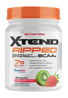 Scivation Xtend Ripped Strawberry Kiwi - 30 Servings