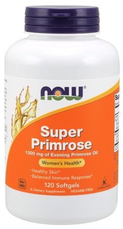 Now Foods Super Primrose 1300 Mg - 120 Softgels