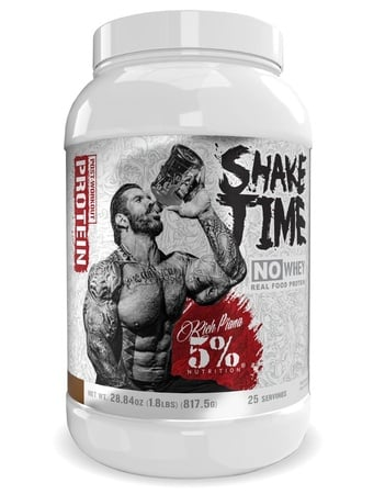 5% Nutrition Shake Time  Chocolate - 25 Servings
