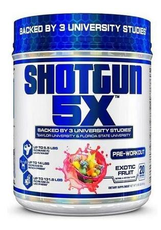 Vpx Shotgun 5X Exotic Fruit - 20 Servings