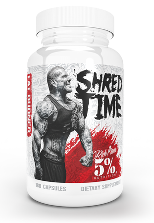 5% Nutrition Shred Time - 180 Cap