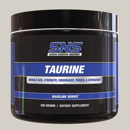 SNS Serious Nutrition Solutions Taurine Powder - 300 Grams