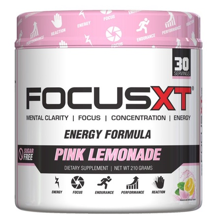 SNS Serious Nutrition Solutions Focus XT Pink Lemonade - 30 Servings