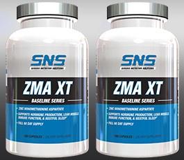 SNS Serious Nutrition Solutions ZMA XT - 360 Cap (2 X 180 Caps Btls)