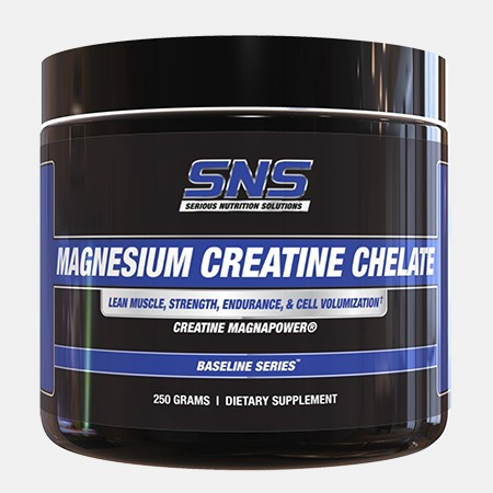 SNS Serious Nutrition Solutions Magnesium Creatine Chelate - 100 Servings